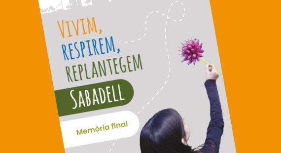 Finalitza amb èxit el projecte Vivim, respirem, replantegem Sabadell