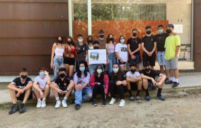 Aprenentatge i Servei Comunitari Ambiental al bosc de la Serra de Galliners amb l'IES Ègara